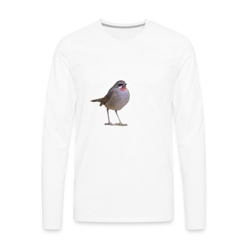 RKN Jaap Denee wit r - Mannen Premium shirt met lange mouwen