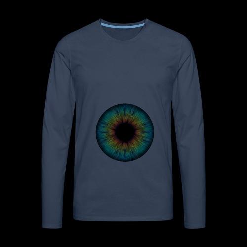 Iris - Männer Premium Langarmshirt