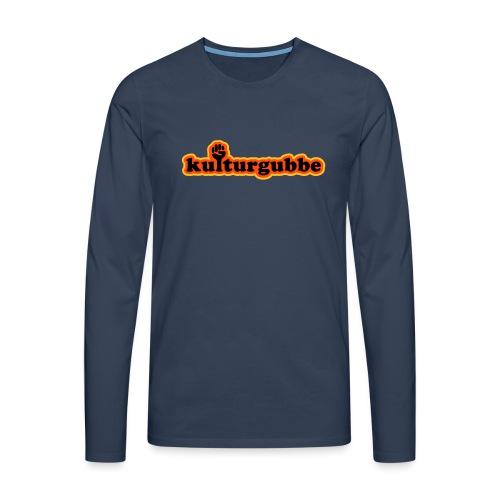 KULTURGUBBE - Långärmad premium-T-shirt herr