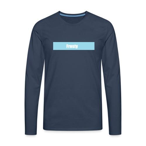 frosty - Men's Premium Longsleeve Shirt