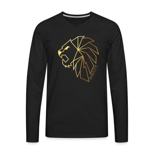 Löwe, Lion Inside - Männer Premium Langarmshirt