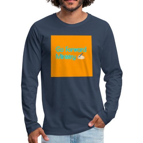 gå framåt ministeriet - Långärmad premium-T-shirt herr
