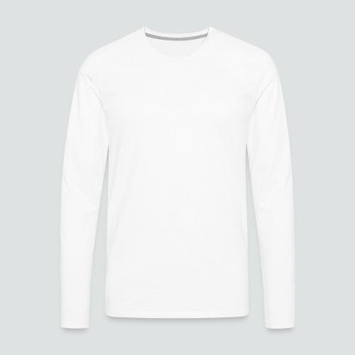 Totenkopf2 png - Männer Premium Langarmshirt