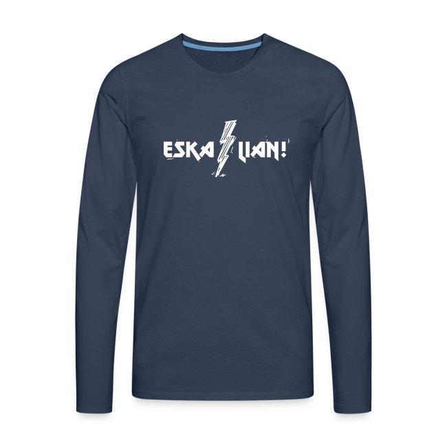 Vorschau: Eskalian - Männer Premium Langarmshirt