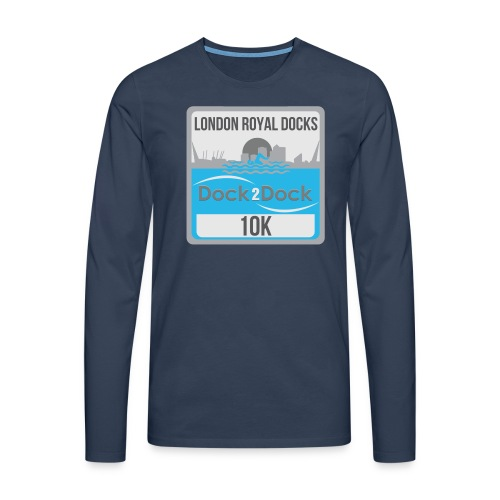 DOCK 2 DOCK CLASSIC BADGE - Men's Premium Longsleeve Shirt