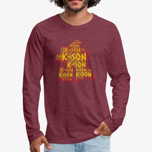 Cloud 57 2 png - T-shirt manches longues Premium Homme