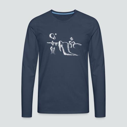 Labuversum png - Männer Premium Langarmshirt