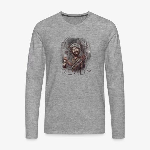 Party - Camiseta de manga larga premium hombre