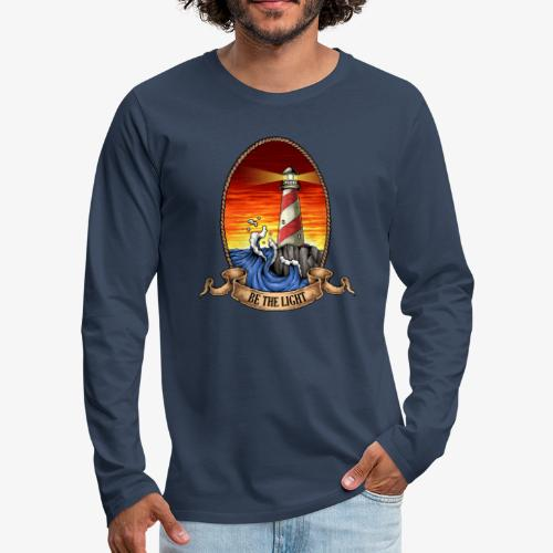 Leuchtturm - Männer Premium Langarmshirt