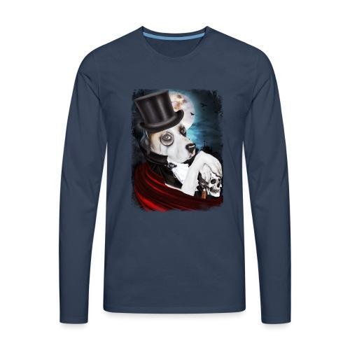 Gothic Dog #2 - Maglietta Premium a manica lunga da uomo
