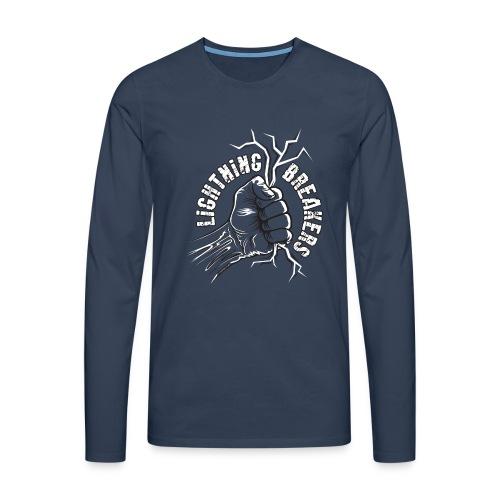 Lightning Breakers - print textiles and Gifts - Miesten premium pitkähihainen t-paita