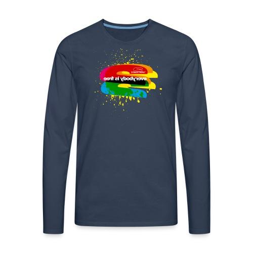 U047 - T-shirt manches longues Premium Homme