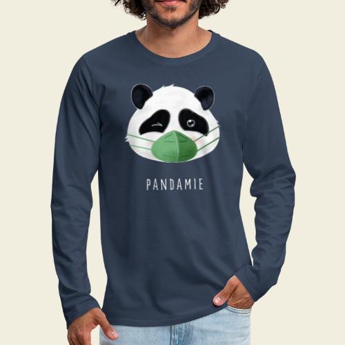 Pandamie - Männer Premium Langarmshirt