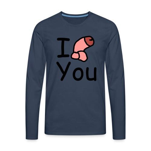 I dong you pin - Men's Premium Longsleeve Shirt