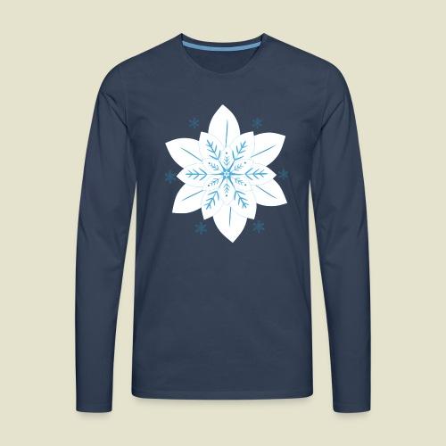 Snowflake - Männer Premium Langarmshirt