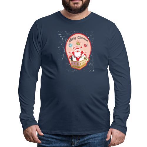 Merry Chrismas1 - T-shirt manches longues Premium Homme