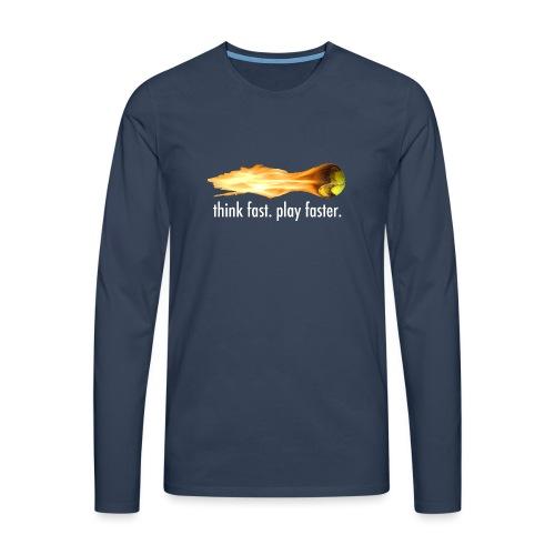 druckfertig gif - Männer Premium Langarmshirt