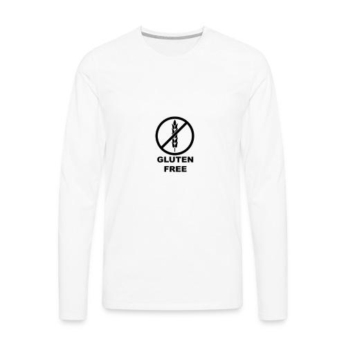 Moi j'ai pas le gluten ! - T-shirt manches longues Premium Homme