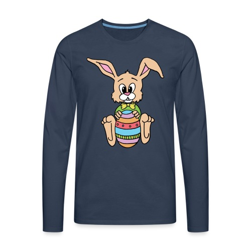 Easter Bunny Shirt - Männer Premium Langarmshirt