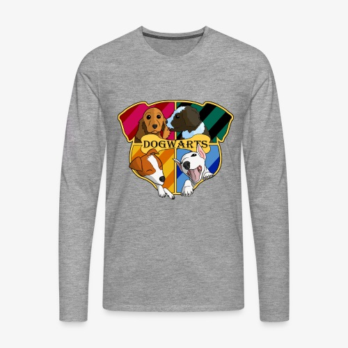 Dogwarts Logo - Men's Premium Longsleeve Shirt