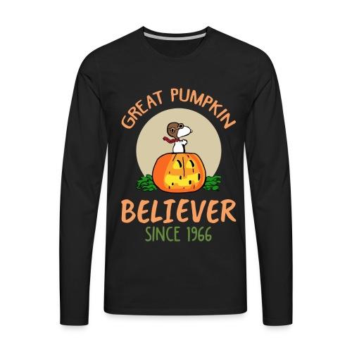 Great pumpkin believer since 1966 - Men's Premium Longsleeve Shirt
