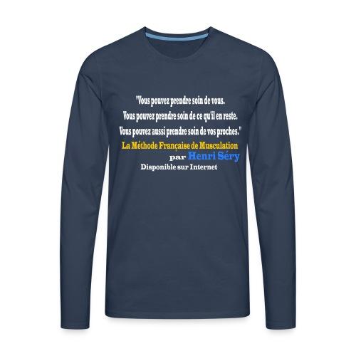LMF Sante v2 - T-shirt manches longues Premium Homme