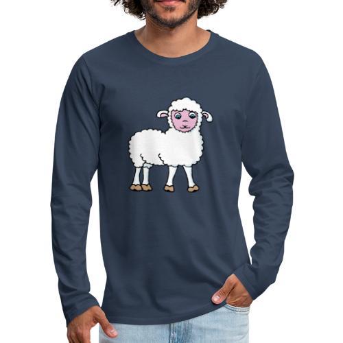 Minos le petit agneau - T-shirt manches longues Premium Homme