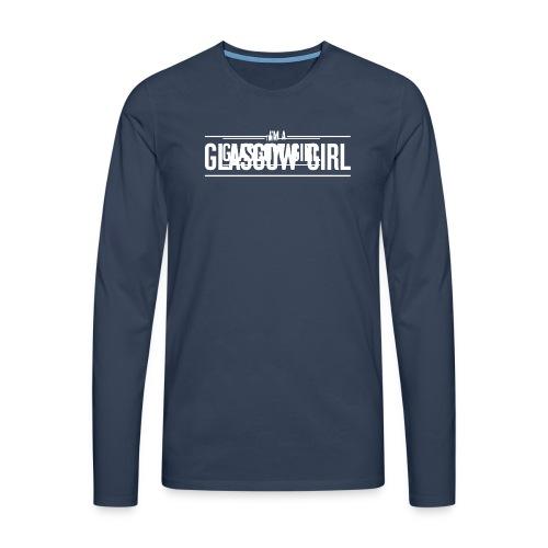 Glasgow Girl t-shirt - Men's Premium Longsleeve Shirt