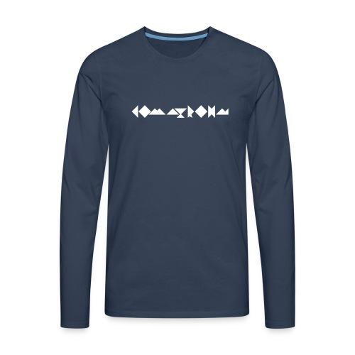 komatrohn_white - Men's Premium Longsleeve Shirt