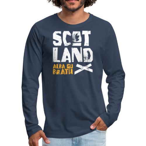 Scotland: Alba Gu Brath - Männer Premium Langarmshirt