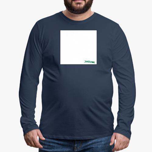 monochrome de whiteman - T-shirt manches longues Premium Homme