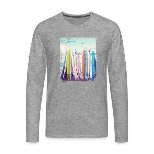 Surfs up - Männer Premium Langarmshirt