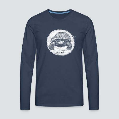 Kreischieldkröte 3 2 png - Männer Premium Langarmshirt