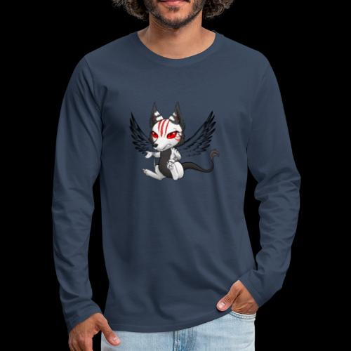 Démon Wolfire - T-shirt manches longues Premium Homme