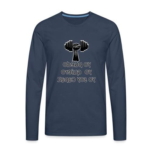 Para el Espejo: GYM - YO PUEDO - Camiseta de manga larga premium hombre