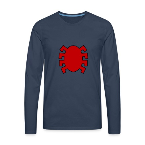 spiderman back - Men's Premium Longsleeve Shirt