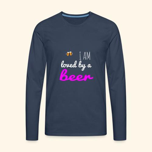 Birra Beer - Maglietta Premium a manica lunga da uomo