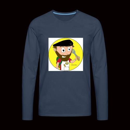 r svg - T-shirt manches longues Premium Homme