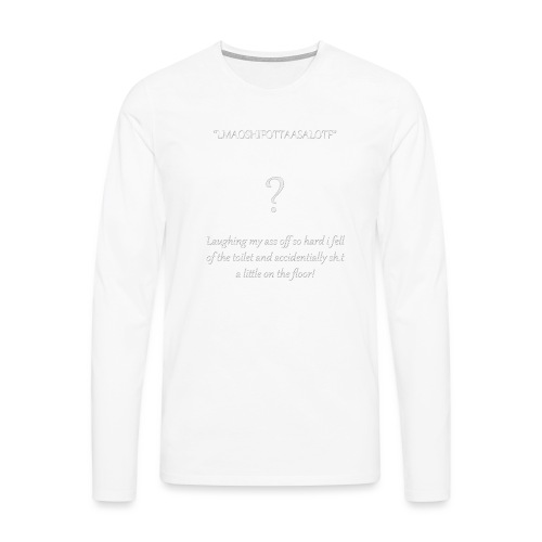 LMAO...... - Mannen Premium shirt met lange mouwen
