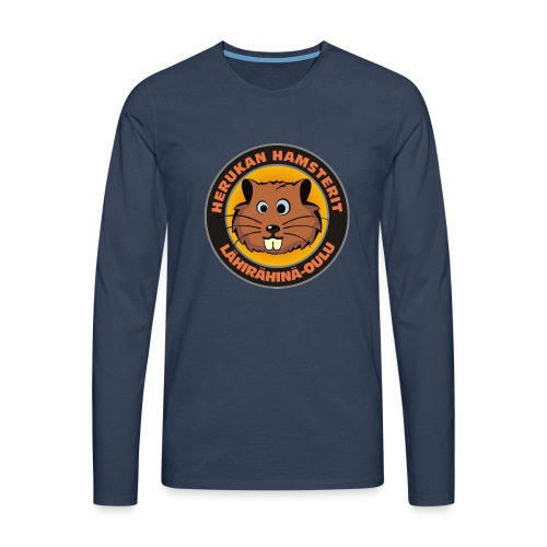 Herukan Hamsterit - Miesten premium pitkähihainen t-paita