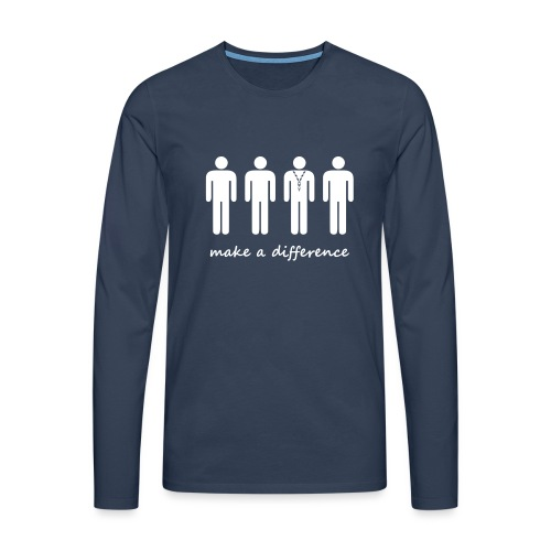 Scouts make a difference - Men's Premium Longsleeve Shirt