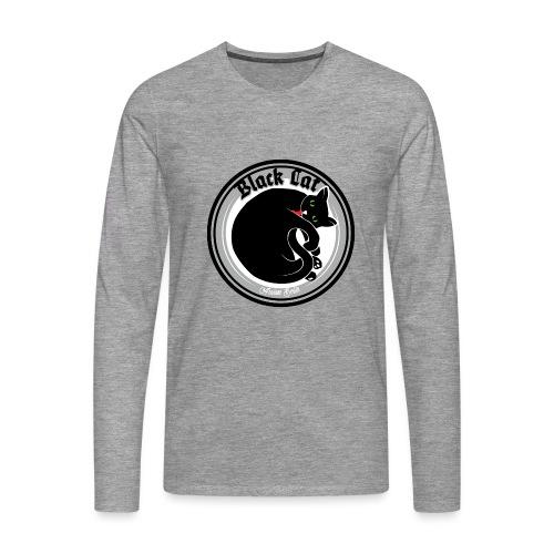 Black Cat - Männer Premium Langarmshirt