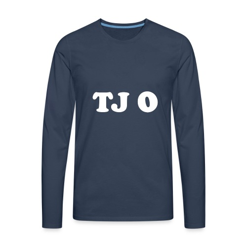 TJ 0 - Miesten premium pitkähihainen t-paita