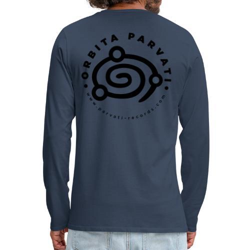 Orbita Parvati logo - Men's Premium Longsleeve Shirt