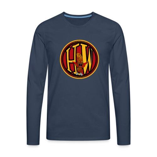 superhw stikker incl worst png - Men's Premium Longsleeve Shirt