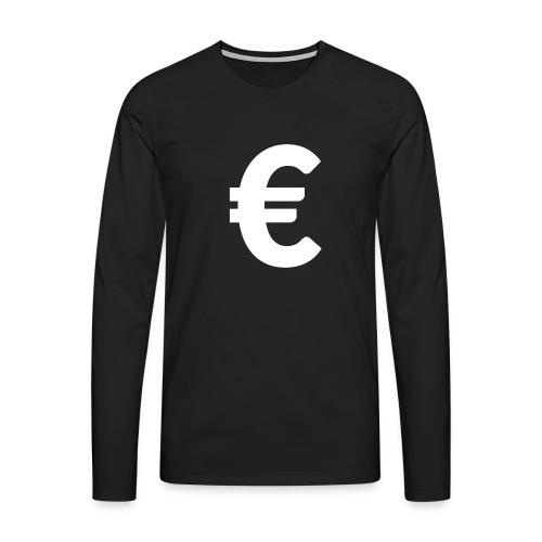EuroWhite - T-shirt manches longues Premium Homme