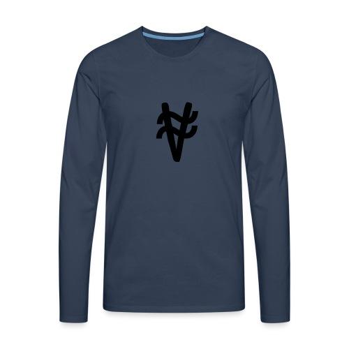 ny logga - Långärmad premium-T-shirt herr