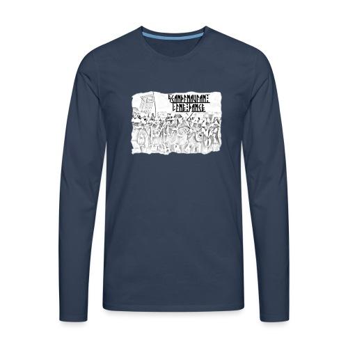 Scandinavian Line Dance - Männer Premium Langarmshirt
