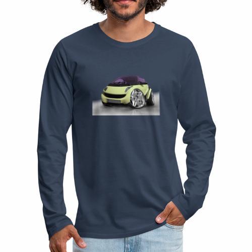Smart, For two, Auto, Tuning, lustig - Männer Premium Langarmshirt