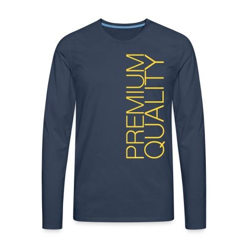 Premium quality - T-shirt manches longues Premium Homme